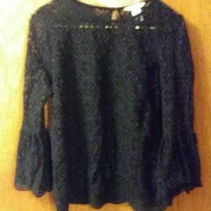 Gorgeous lacey look shirt Worn once